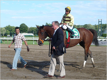 Any Limit returns to the Saratoga winner's circle
