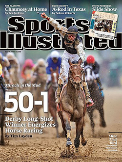 Sports Illustrated cover for May 5, 2009